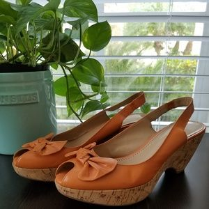 Naturalizer Wedge Sandals SZ 9